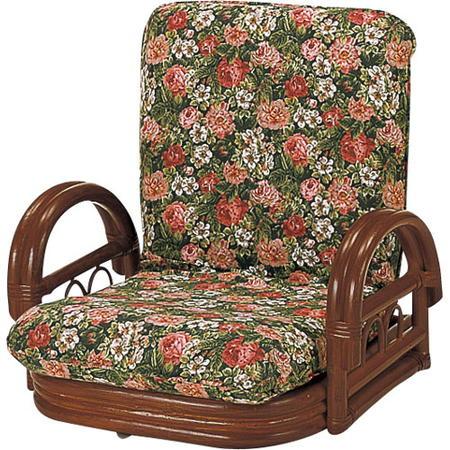 籐リクライニング回転座椅子 ロー s604b