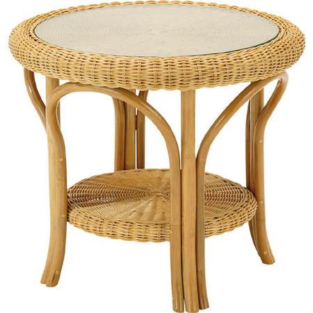 籐丸テーブル 幅60cm t127