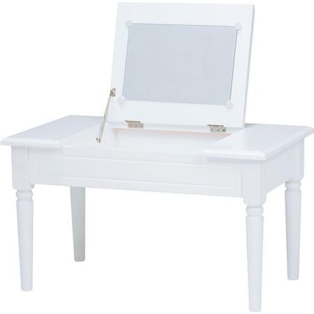 ドレッサー兼用ミラー付きコスメテーブル 幅70cm