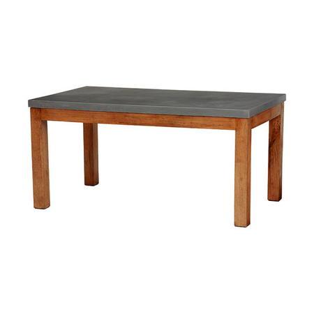 コンクリート天板ダイニングテーブル 幅150cm