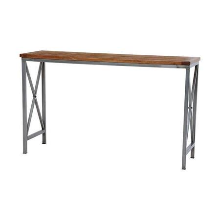 アイアン×天然木カウンターテーブル リベルタ 幅150cm
