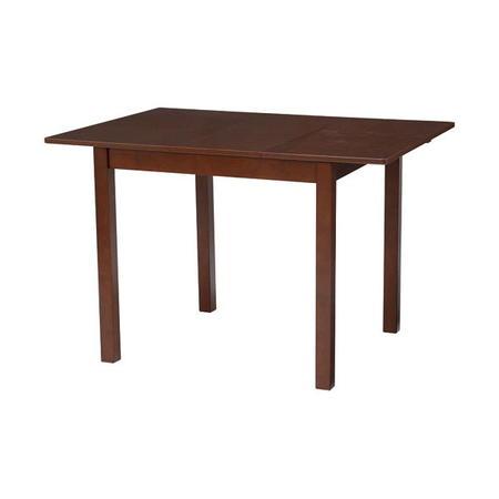 伸長式エクステンションダイニングテーブル 幅90/120cm ダークブラウン