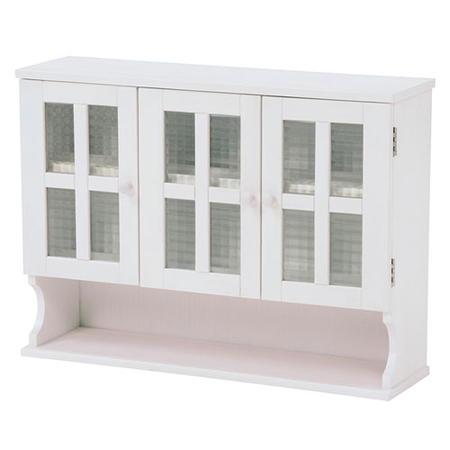 調味料ラック ホワイト色 白家具 キッチン調味料ラック 幅68cm高さ50cm ホワイト MUD-6029WH キッチンキャビネット スパイスラック キッチンスタンド キッチン収納 mud-6029wh