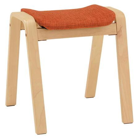 スタッキングチェア スツール 2脚セット スタッキングスツール オレンジ 2脚組 VH-7920OR-2 スタッキングチェアー フロアチェアー 一人掛け イス 椅子 チェアー 背もたれなし椅子 イス チェア 腰掛椅子 北欧 シンプル vh-7920or-2