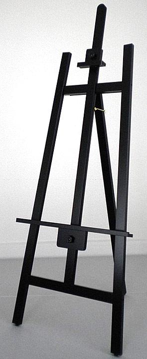 イーゼル 木製 木製イーゼル ディスプレイ ディスプレイイーゼル アンティーク 木(ブラック): 0a5520s2