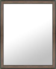 ブラウン 茶色 ダークブラウン の 鏡 ミラー 壁掛け鏡 壁掛けミラー ウオールミラー:LM812 コーヒー Mサイズ(フレームミラー 壁掛け 壁付け 姿見 姿見鏡 壁 おしゃれ エレガント 化粧鏡 アンティーク 玄関 玄関鏡 洗面所 トイレ 寝室 )