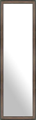鏡 ミラー 壁掛け鏡 壁掛けミラー ウオールミラー:LM812 コーヒー(フレームミラー 壁掛け 壁付け 姿見 姿見鏡 壁 おしゃれ エレガント 化粧鏡 アンティーク 玄関 玄関鏡 洗面所 トイレ 寝室 額 フレーム 額縁 )