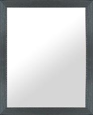 鏡 ミラー 壁掛け鏡 ウォールミラー:LP719ブラック Lサイズ