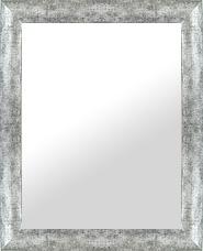 シルバー 銀 銀箔 仕立ての 鏡 ミラー 壁掛け鏡 壁掛けミラー ウオールミラー:LP722銀箔 Lサイズ(フレームミラー 壁掛け 壁付け 姿見 姿見鏡 壁 おしゃれ エレガント 化粧鏡 アンティーク 玄関 玄関鏡 洗面所 トイレ 寝室 )