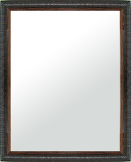 ユニークな色 の 鏡 ミラー 壁掛け鏡 壁掛けミラー ウオールミラー:LZ5159 ブラック Lサイズ(フレームミラー 壁掛け 壁付け 姿見 姿見鏡 壁 おしゃれ エレガント 化粧鏡 アンティーク 玄関 玄関鏡 洗面所 トイレ 寝室 )