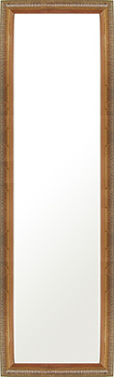 鏡 ミラー 壁掛け鏡 壁掛けミラー ウオールミラー:LZ5159 金箔(フレームミラー 壁掛け 壁付け 姿見 姿見鏡 壁 おしゃれ エレガント 化粧鏡 アンティーク 玄関 玄関鏡 洗面所 トイレ 寝室 額 フレーム 額縁 )
