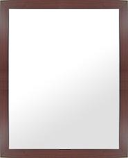 ブラウン 茶色 ダークブラウン の 鏡 ミラー 壁掛け鏡 壁掛けミラー ウオールミラー:MDF4100 セピア Mサイズ(フレームミラー 壁掛け 壁付け 姿見 姿見鏡 壁 おしゃれ エレガント 化粧鏡 アンティーク 玄関 玄関鏡 洗面所 トイレ 寝室 )