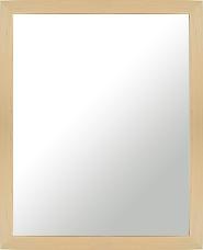ナチュラル ナチュラル色 の 鏡 ミラー 壁掛け鏡 壁掛けミラー ウオールミラー:MDF4100 メープル柄 Lサイズ(フレームミラー 壁掛け 壁付け 姿見 姿見鏡 壁 おしゃれ エレガント 化粧鏡 アンティーク 玄関 玄関鏡 洗面所 トイレ 寝室 )