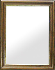 ブラウン 茶色 ダークブラウン の 鏡 ミラー 壁掛け鏡 壁掛けミラー ウオールミラー:ホワイトアッシュ Mサイズ(フレームミラー 壁掛け 壁付け 姿見 姿見鏡 壁 おしゃれ エレガント 化粧鏡 アンティーク 玄関 玄関鏡 洗面所 トイレ 寝室 )