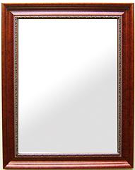ブラウン 茶色 ダークブラウン の 鏡 ミラー 壁掛け鏡 壁掛けミラー ウオールミラー:セピア レディッシュブラウン Lサイズ(フレームミラー 壁掛け 壁付け 姿見 姿見鏡 壁 おしゃれ エレガント 化粧鏡 アンティーク 玄関 玄関鏡 洗面所 トイレ 寝室 )