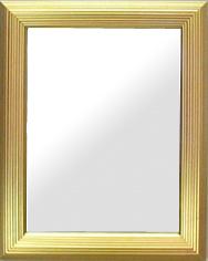 鏡 ミラー 壁掛け鏡 ウォールミラー:北山 金箔仕立て 特大サイズ