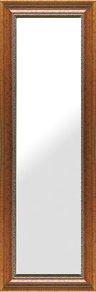 鏡 ミラー 壁掛け鏡 壁掛けミラー ウオールミラー:セピア ブラウン(フレームミラー 壁掛け 壁付け 姿見 姿見鏡 壁 おしゃれ エレガント 化粧鏡 アンティーク 玄関 玄関鏡 洗面所 トイレ 寝室 額 フレーム 額縁 )