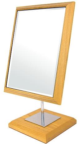 鏡の専門店 業務用 プロ仕様 鏡 ミラー 卓上鏡 卓上ミラー スタンドミラー ミラースタンド スタンド メーキャップミラー 化粧鏡 コスメミラー:3a73t1(片面鏡)