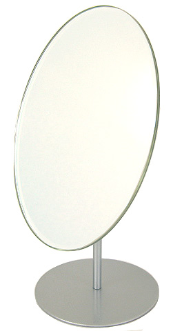 Mirror Mirror Commercial (Professional) Stand Mirror Table Mirror: 3 A85t  (single Sided Mirror)