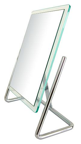 鏡の専門店 業務用 プロ仕様 鏡 ミラー 卓上鏡 卓上ミラー スタンドミラー ミラースタンド スタンド メーキャップミラー 化粧鏡 コスメミラー:3a56t(片面鏡)