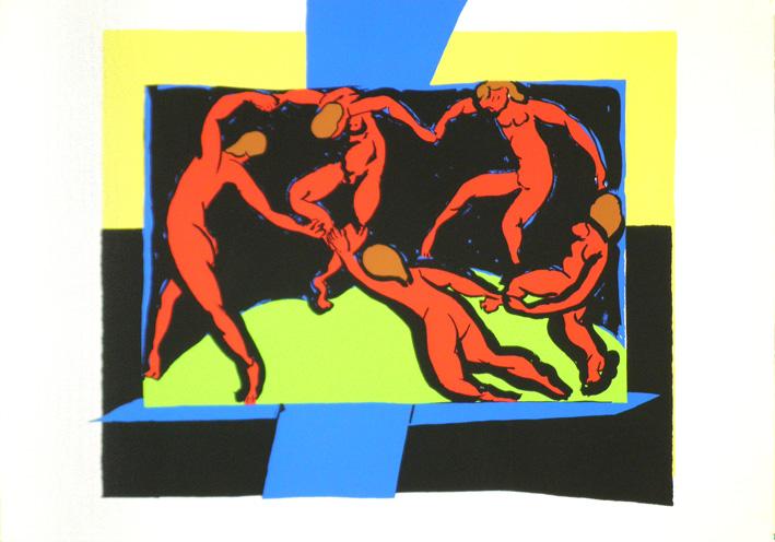 アンリ・マティス【Henri Matisse】 ポスター アート ポスター Dance〔シルクスクリーン〕