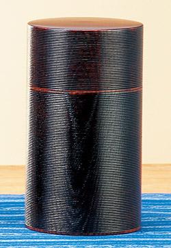 お茶 筒 茶筒 おしゃれ 茶缶 デザイン 缶:h6221d