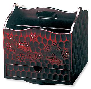 鎌倉彫 鎌倉彫り リモコン ボックス リモコン スタンド リモコン ケース:h6760ka-d