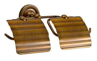 2連 ダブル ペーパーホルダー アイアン トイレ 真鍮 トイレットペーパーホルダー アンティーク トイレペーパーホルダー ペーパーホルダーカバー ロールペーパーホルダー:g-6g4062k3