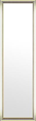 鏡 ミラー 壁掛け鏡 壁掛けミラー ウオールミラー:シルバーコンチネンタル ゴールドインナー352mmx1252mm(フレームミラー 壁掛け 壁付け 姿見 姿見鏡 壁 おしゃれ エレガント 化粧鏡 アンティーク 玄関 玄関鏡 洗面所 トイレ 寝室 額 フレーム 額縁 )