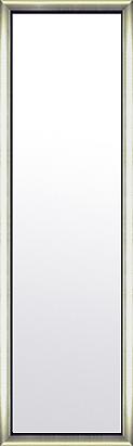 鏡 ミラー 壁掛け鏡 姿見 姿見鏡:シルバーコンチネンタル ブラックインナー 352mmx1252mm