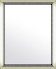 鏡 ミラー 壁掛け鏡 ウォールミラー:シルバーコンチネンタル ブラックインナー(大)486mmx586mm
