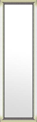鏡 ミラー 壁掛け鏡 壁掛けミラー ウオールミラー:シルバーコンチネンタル ブラックインナー(大)386mmx1286mm(フレームミラー 壁掛け 壁付け 姿見 姿見鏡 壁 おしゃれ エレガント 化粧鏡 アンティーク 玄関 玄関鏡 洗面所 トイレ 寝室 額 フレーム 額縁 )