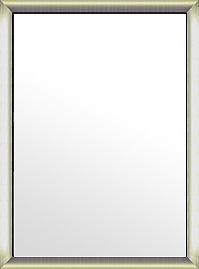 鏡 ミラー 壁掛け鏡 ウォールミラー:シルバーコンチネンタル ブラックインナー(大) 736mmx986mm