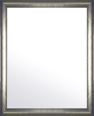 ユニークな色 の 鏡 ミラー 壁掛け鏡 壁掛けミラー ウオールミラー:ピューター シルバー 348mmx448mm(フレームミラー 壁掛け 壁付け 姿見 姿見鏡 壁 おしゃれ エレガント 化粧鏡 アンティーク 玄関 玄関鏡 洗面所 トイレ 寝室 )