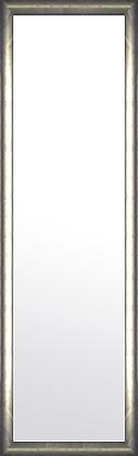 鏡 ミラー 壁掛け鏡 壁掛けミラー ウオールミラー:ピューター シルバー 348mmx1248mm(フレームミラー 壁掛け 壁付け 姿見 姿見鏡 壁 おしゃれ エレガント 化粧鏡 アンティーク 玄関 玄関鏡 洗面所 トイレ 寝室 額 フレーム 額縁 )