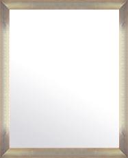 シルバー 銀 銀箔 仕立ての 鏡 ミラー 壁掛け鏡 壁掛けミラー ウオールミラー:マルタ シルバー&オレンジ 368mmx468mm(フレームミラー 壁掛け 壁付け 姿見 姿見鏡 壁 おしゃれ エレガント 化粧鏡 アンティーク 玄関 玄関鏡 洗面所 トイレ 寝室 )