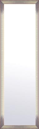 鏡 ミラー 壁掛け鏡 壁掛けミラー ウオールミラー:マルタ シルバー&オレンジ 368mmx1268mm(フレームミラー 壁掛け 壁付け 姿見 姿見鏡 壁 おしゃれ エレガント 化粧鏡 アンティーク 玄関 玄関鏡 洗面所 トイレ 寝室 額 フレーム 額縁 )