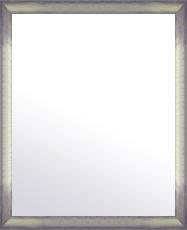 シルバー 銀 銀箔 仕立ての 鏡 ミラー 壁掛け鏡 壁掛けミラー ウオールミラー:マルタ シルバー&ブラック 468mmx568mm(フレームミラー 壁掛け 壁付け 姿見 姿見鏡 壁 おしゃれ エレガント 化粧鏡 アンティーク 玄関 玄関鏡 洗面所 トイレ 寝室 )