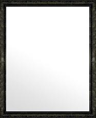 ユニークな色 の 鏡 ミラー 壁掛け鏡 壁掛けミラー ウオールミラー:ボーン ナポリ ブラック 372mmx472mm(フレームミラー 壁掛け 壁付け 姿見 姿見鏡 壁 おしゃれ エレガント 化粧鏡 アンティーク 玄関 玄関鏡 洗面所 トイレ 寝室 )