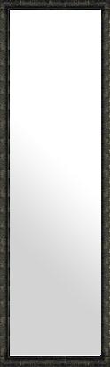 鏡 ミラー 壁掛け鏡 壁掛けミラー ウオールミラー:ボーン ナポリ ブラック 372mmx1272mm(フレームミラー 壁掛け 壁付け 姿見 姿見鏡 壁 おしゃれ エレガント 化粧鏡 アンティーク 玄関 玄関鏡 洗面所 トイレ 寝室 額 フレーム 額縁 )