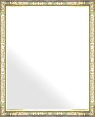 シルバー 銀 銀箔 仕立ての 鏡 ミラー 壁掛け鏡 壁掛けミラー ウオールミラー:ボーン ナポリ シルバー 372mmx472mm(フレームミラー 壁掛け 壁付け 姿見 姿見鏡 壁 おしゃれ エレガント 化粧鏡 アンティーク 玄関 玄関鏡 洗面所 トイレ 寝室 )