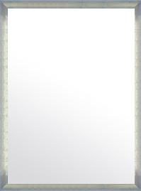 特大 大型 ラージサイズ の 鏡 ミラー 壁掛け鏡 壁掛けミラー ウオールミラー:マルタ シルバー&ブルー 718mmx968mm(フレームミラー 壁掛け 壁付け 姿見 姿見鏡 壁 おしゃれ エレガント 化粧鏡 アンティーク 玄関 玄関鏡 洗面所 トイレ 寝室 )