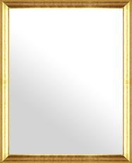 鏡 ミラー 壁掛け鏡 ウォールミラー:ブロークンゴールドリーフ トラディショナル 482mmx582mm