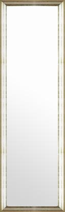 鏡 ミラー 壁掛け鏡 壁掛けミラー ウオールミラー:ブロークンシルバーリーフ トラディショナル 382mmx1282mm(フレームミラー 壁掛け 壁付け 姿見 姿見鏡 壁 おしゃれ エレガント 化粧鏡 アンティーク 玄関 玄関鏡 洗面所 トイレ 寝室 額 フレーム 額縁 )