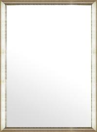 鏡 ミラー 壁掛け鏡 ウォールミラー:ブロークンシルバーリーフ トラディショナル 732mmx982mm