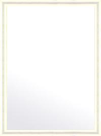鏡 ミラー 壁掛け鏡 ウォールミラー:シャイニングホワイト トラディショナル 724mmx974mm