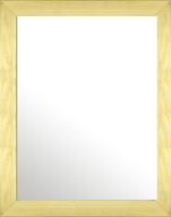ナチュラル ナチュラル色 の 鏡 ミラー 壁掛け鏡 壁掛けミラー ウオールミラー:メープル ナチュラル 366mmx466mm(フレームミラー 壁掛け 壁付け 姿見 姿見鏡 壁 おしゃれ エレガント 化粧鏡 アンティーク 玄関 玄関鏡 洗面所 トイレ 寝室 )