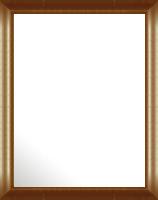 鏡 ミラー 壁掛け鏡 ウォールミラー:アンスリー ブラウン 426mmx526mm