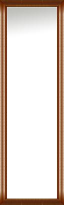 鏡 ミラー 壁掛け鏡 壁掛けミラー ウオールミラー:アンスリー ブラウン 426mmx1326mm(フレームミラー 壁掛け 壁付け 姿見 姿見鏡 壁 おしゃれ エレガント 化粧鏡 アンティーク 玄関 玄関鏡 洗面所 トイレ 寝室 額 フレーム 額縁 )