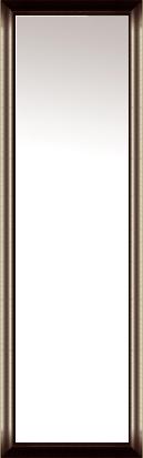 鏡 ミラー 壁掛け鏡 壁掛けミラー ウオールミラー:アンスリー ダークブラウン 426mmx1326mm(フレームミラー 壁掛け 壁付け 姿見 姿見鏡 壁 おしゃれ エレガント 化粧鏡 アンティーク 玄関 玄関鏡 洗面所 トイレ 寝室 額 フレーム 額縁 )